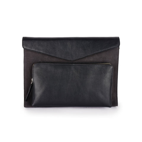 Phive Rivers Men's Leather Laptop Sleeve - Prm1308