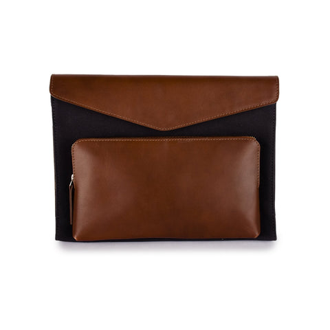 Phive Rivers Men's Leather Laptop Sleeve - Prm1309