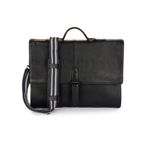 Leather Messenger Bag -PRM1298