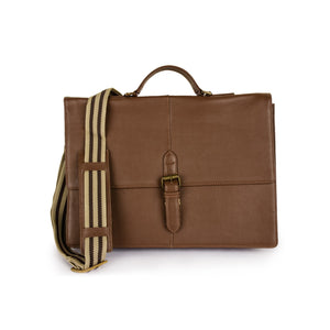 Leather Messenger Bag -PRM1297