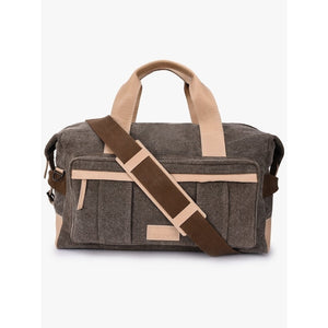 Phive Rivers Men's Leather Duffle Bag - Prm566