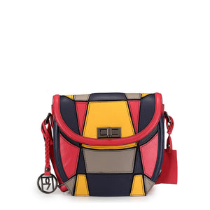 Leather Crossbody Bag - PR1042