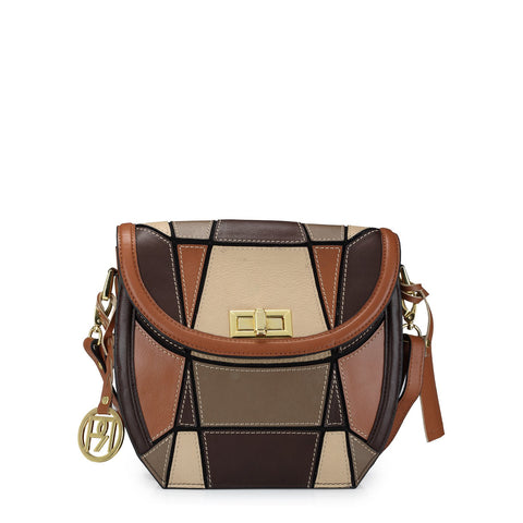 Leather Crossbody Bag - PR1043
