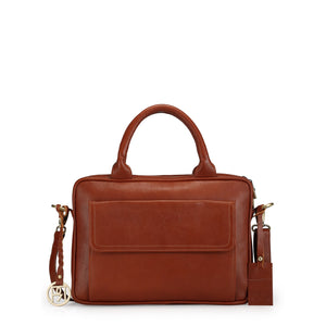 Leather Laptop Bag -  PR1037