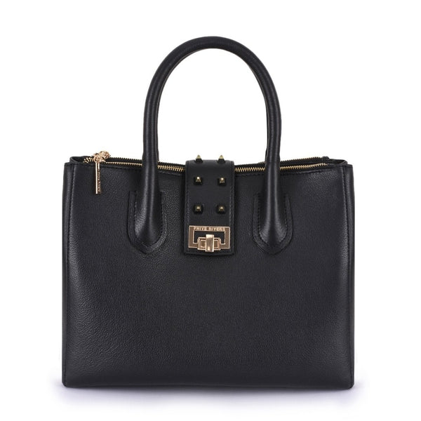 Leather Black Handbag