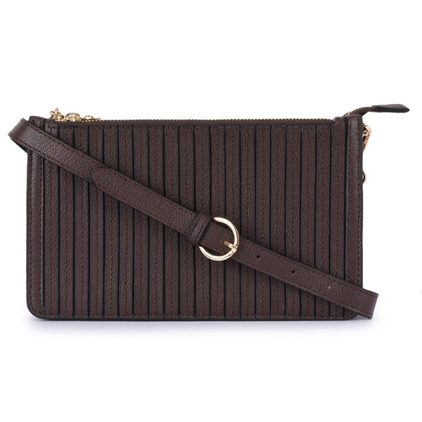 Leather Brown Crossbody Bag