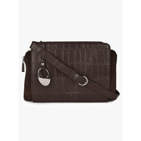 Phive Rivers Women's Leather Crossbody Bag  (Brown_PR537)