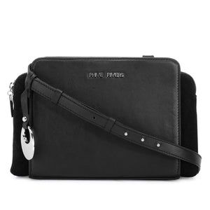 Leather Crossbody Bag - PR1272