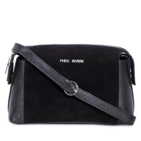 Leather Crossbody Bag - PR1290