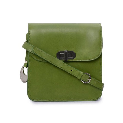 Leather Crossbody Bag - PRU1319