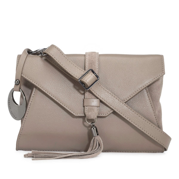 Leather Crossbody Bag - PR1280