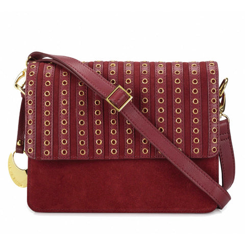 Leather Crossbody Bag - PR1270