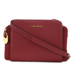 Leather Crossbody Bag - PR1274