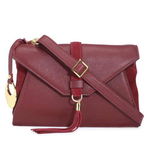 Leather Crossbody Bag - PR1279