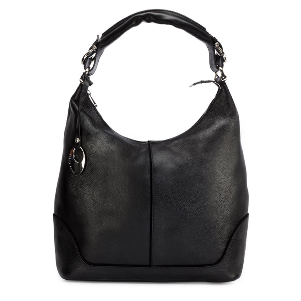 Leather Hobo Bag - PR1276