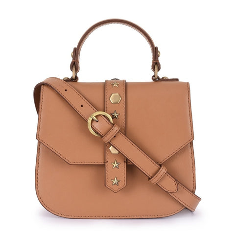 Leather Tan Crossbody Bag