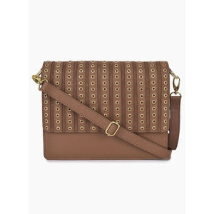 Phive Rivers Women's Leather Crossbody Bag  (Tan_PR539)
