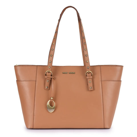 Leather Tan Handbag