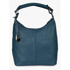 Phive Rivers Women's Leather Hobo Bag (Teal_PR189)
