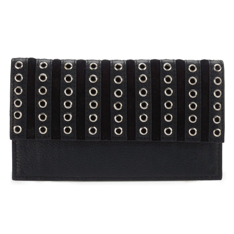 Phive Rivers Women's Black Wallet-PR1281