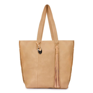 Leather Tote Bag - PRU1350