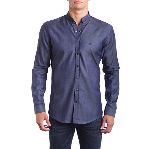 Thunder Grey Slim Fit Dress Shirt