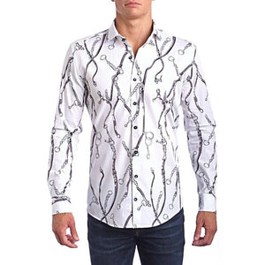 Lux Chains Classic Fit Dress Shirt