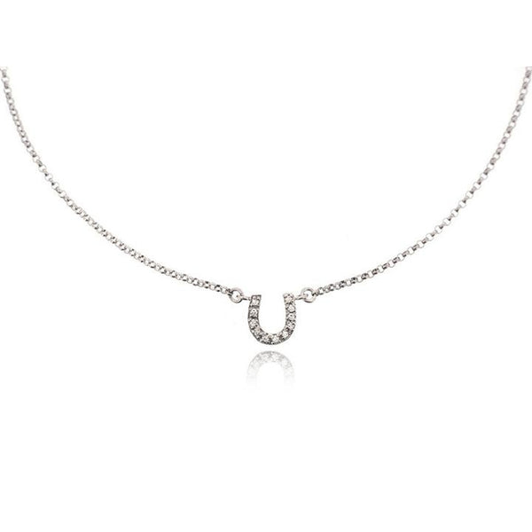 HORSESHOE LAYERED NECKLACE