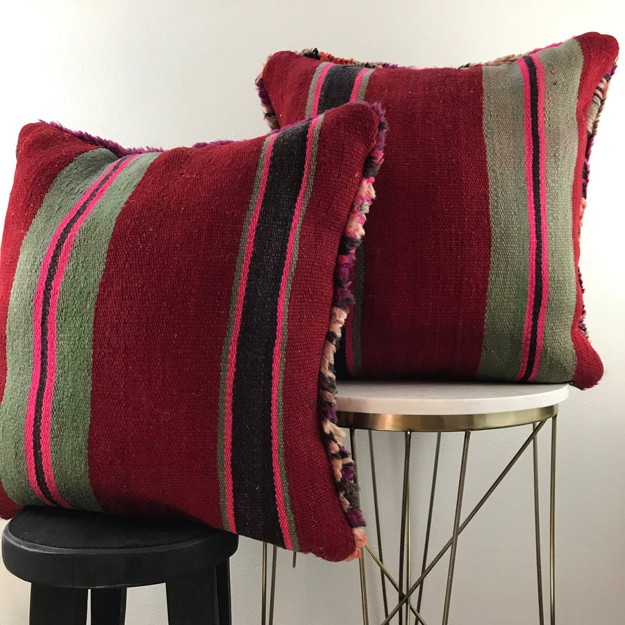Moroccan Rug Pillows (Set of 2)