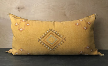 XXL Moroccan Sabra Silk Pillow