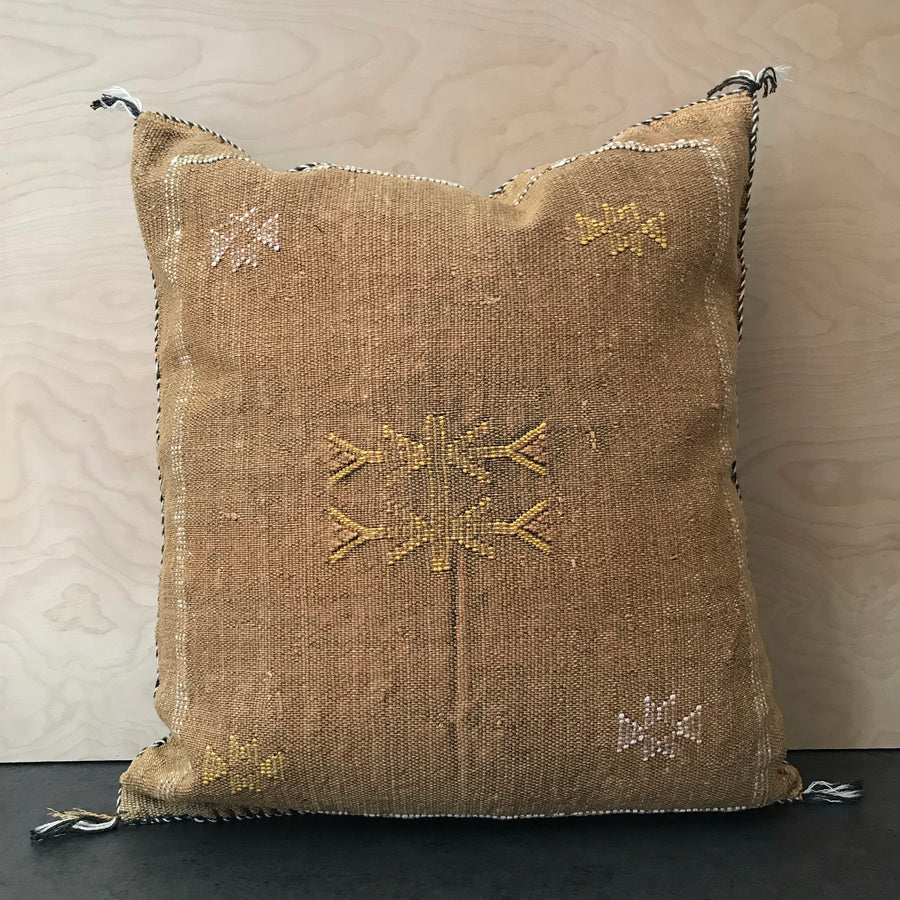 Moroccan Sabra Silk Pillow