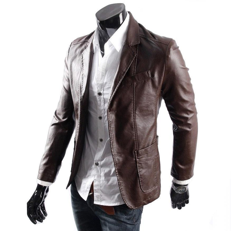 Bernewa Men Leather Coats - Xosack