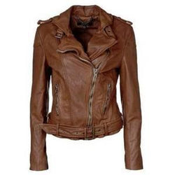 Bingeo Women Biker Leather Jackets - Xosack