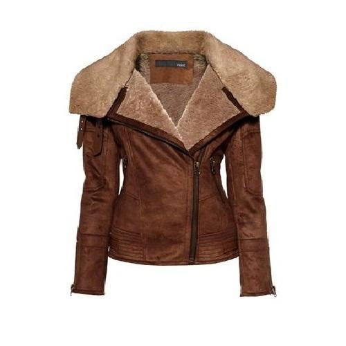 Clemzy Women Classic Leather Jackets - Xosack