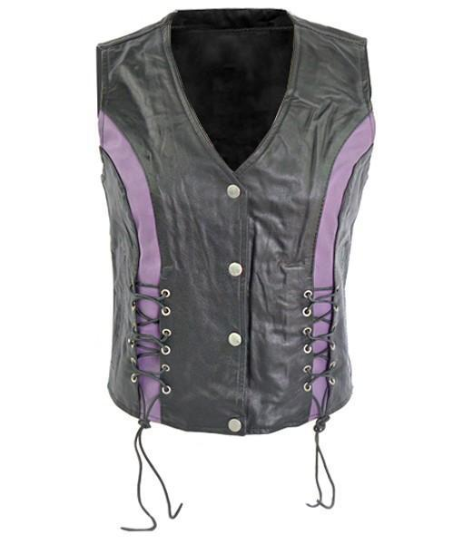 Cowhide Women Leather Vests - Xosack