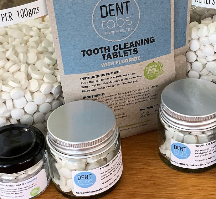 Denttabs with Fluoride are back in stock!