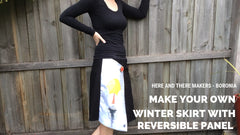 reversible skirt workshop