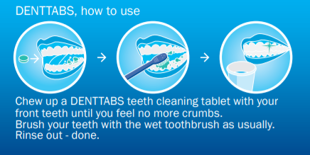 Denttabs Instructions