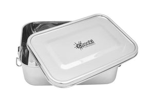 Stainless Steel Hungry Max Lunch Box 1.6L - Here and There Makers