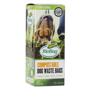 BioBag Dog Bags Box 40