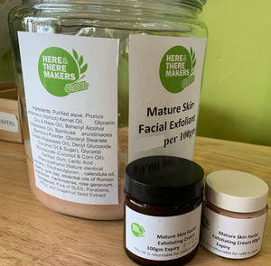 Facial Exfoliating Cream - Mature Skin