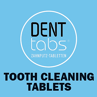 Denttabs Tooth Cleaning Tablets - Jar - Here and There Makers