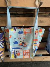 Canvas Cotton Shopping Bags - Flat Base