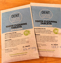 Denttabs Tooth Cleaning Tablets - Packs - Here and There Makers
