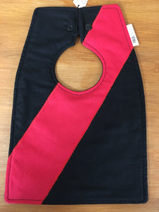 Footy Bib - Essendon Colours - Here and There Makers