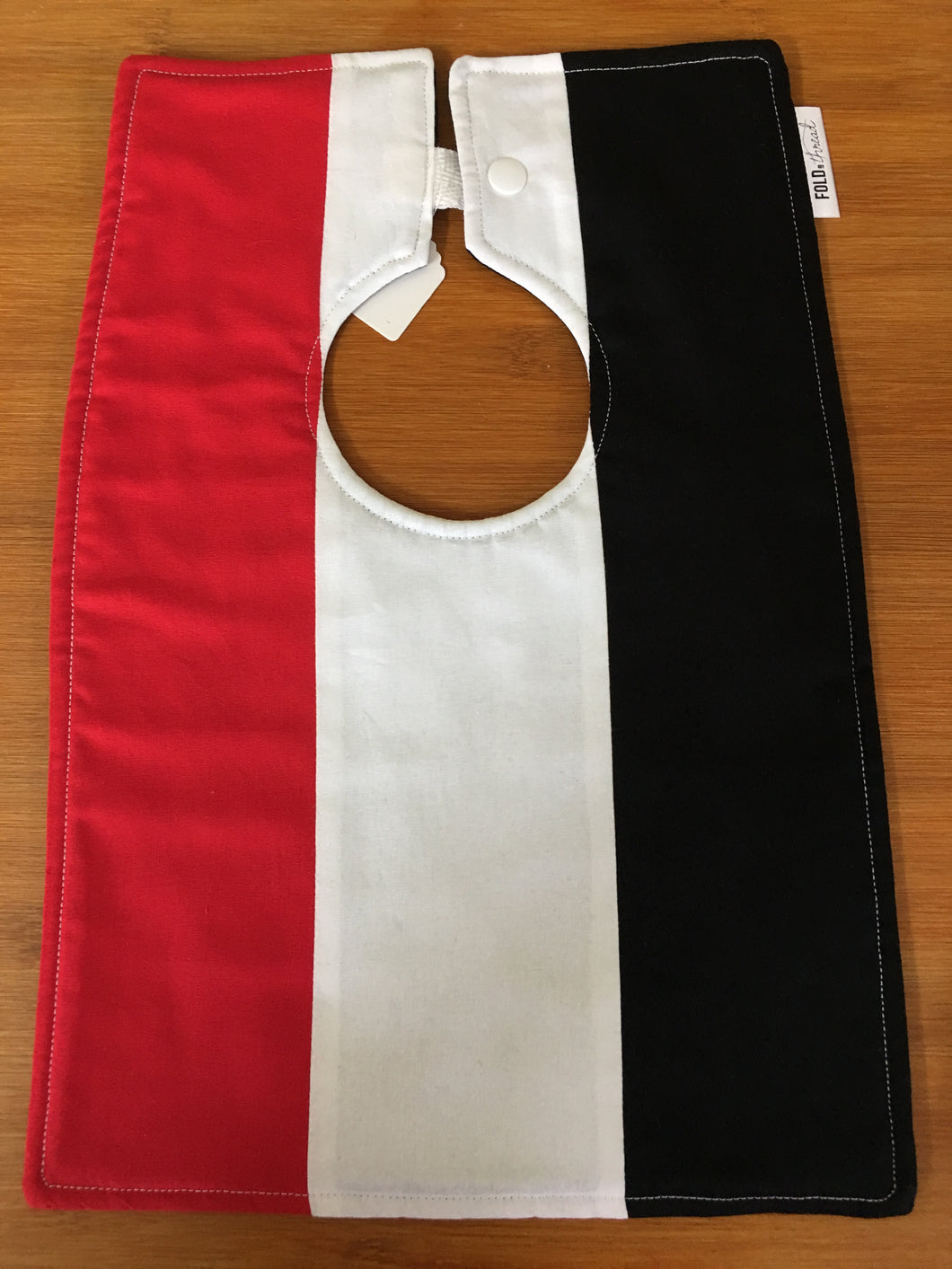 Footy Bib - St Kilda Colours - Here and There Makers