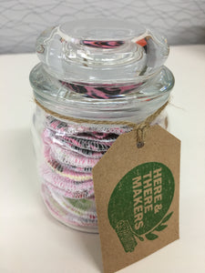 Makeup Wipes Jar 20 - HTM - Here and There Makers