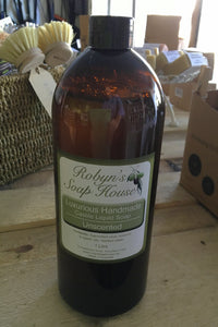 Robyn's Soap House Liquid 1 Litre - Here and There Makers