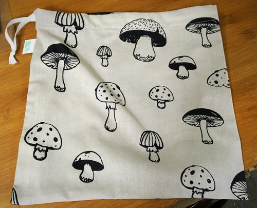 Mushroom Produce Bag - HTM - Here and There Makers