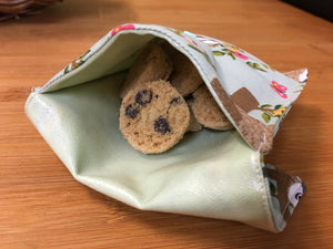 Mini Snack Bags  - PUL Lined - Here and There Makers